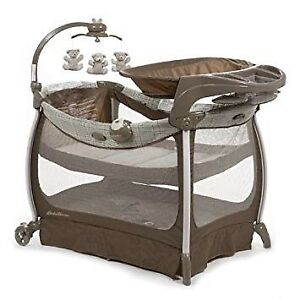 Eddie Bauer soothe and sway play pen