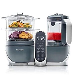 Babymoov Duo Meal Station | 6 in 1 Food Processor