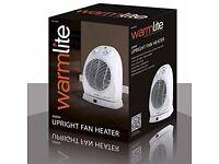 warmlite upright fan heater 2000 W - as brand new