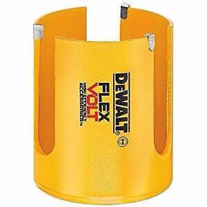 DEWALT DWAFV0218 Scie-cloche à bois en carbure 53,97 mm (2 1/8 po) FLEXVOLT  neufff