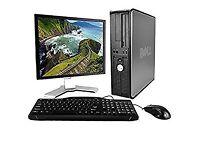 PROFESSIONALLY REFURBISHED WIRELESS DELL PC, MONITOR, KEYBOARD, MOUSE 4GB RAM 250GB HD 6 MTHS WRNTY