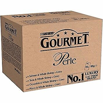Gourmet perle cat food box of 96 pouches