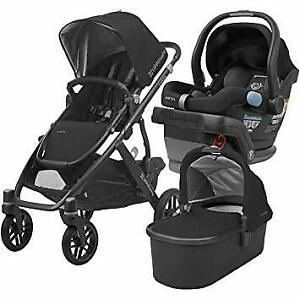 2014 Uppababy Vista stroller with bassinet+Maxi Cosi car seat