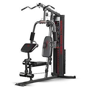 Marcy  MWM-990 Home Gym features over 30 strength train