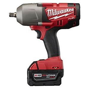 "WANTED: MILWAUKEE 1/2"" DRIVE IMPACT MODEL 2763 FUEL"