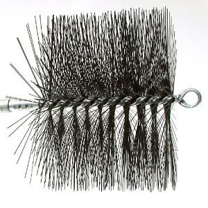 Rutland 16409 Round Wire Chimney Sweep Brush, 9-Inch brosse