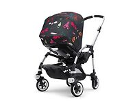 Bugaboo Bee 3 Pushchair with Andy Warhol Hood + Accessories