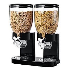 Zevro KCH-06121/GAT200 Indispensable Dry Food Dispenser, Dual Co