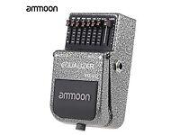 Ammoon EQ Equalizer Guitar Effects Pedal - Like BOSS MXR etc.