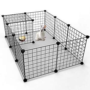 BUILD YOUR OWN RABBIT OR GUINEA PIG CAGE CHEAPER THAN STORE CAGE