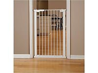 Extra tall pressure fit baby gate