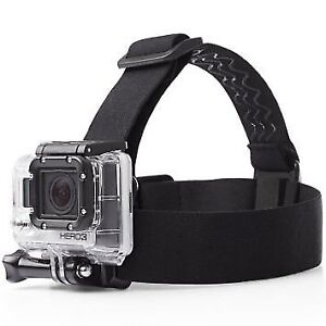 Head mount strap accessory for Gopro Hero 7 / Hero 6 etc.