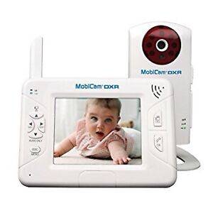 Gently used baby monitor with extra camera (Mobicam DXR)