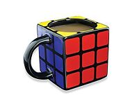 RUBIKS CUBE MUG AND COASTERS