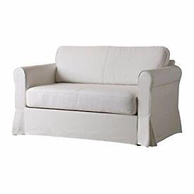 IKEA - Hagalund - Sofa Bed 2 Seater - White