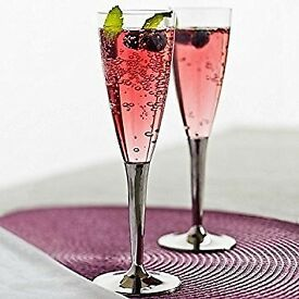 New Mozaik by Sabert Disposable Champagne Flutes - x 50