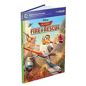 Leapfrog Leap Reader Book Disney Planes Fire and Rescue