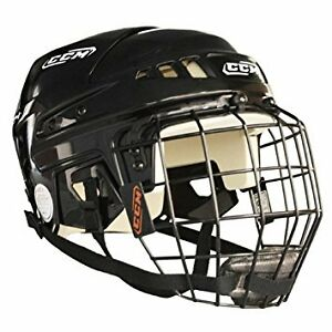 Kids Size Medium CCM Hockey Helmet with cage MINT condition!