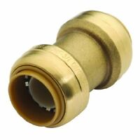 Sharkbite 3/4 in. Brass Push-to-Connect Coupling (Pack of 3)