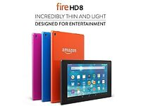 Amazon fire hd8 tablet 16gb
