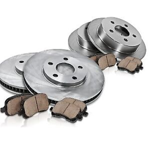 SPECIAL TOYOTA - Brake pads and rotors / Plaquettes et disques