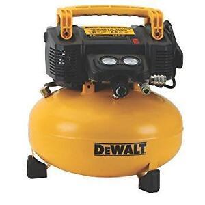 DEWALT DWFP55126 Heavy Duty 165 PSI Pancake Compressor avec hose neufff
