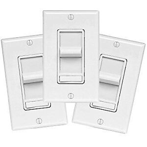 _____ LED COMPATIBLE DIMMMER BRAND LEVITON 3PK _____