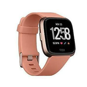 Fitbit Versa Smartwatch, Rose Gold, Brand new sealed, storedeal_2982259