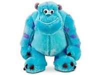 BRAND NEW DISNEY PIXAR MONSTERS INC SOFT TOY