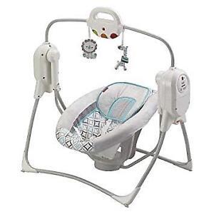 Fisher Price Cradle N Swing Spacesaver