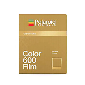 NEW Polaroid 600 Film - Limited Edition Gold Frame