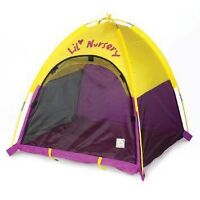Indoor/outdoor play tent