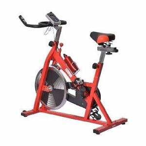Indoor Cycling Bike Upright Stationary Bicycle Exercise Fitness / Professional Gym Spin Bike