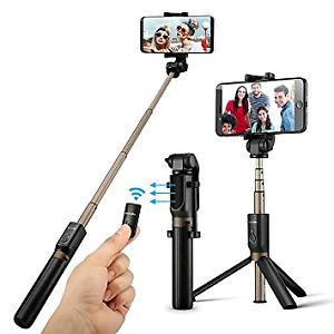 2 in 1 Selfie Stick Tripod wih wireless remote! New in the box