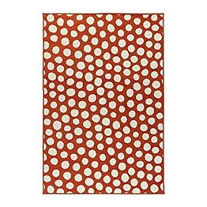 Tapis Ikea Orange, poil court