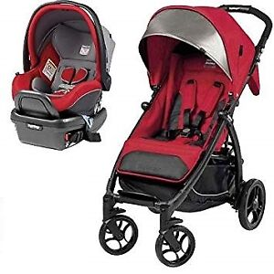 Peg-Perego Book stroller with Peg-Perego  car seat +footmuff.
