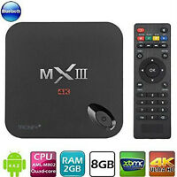 MX3 Android TV Box - FULLY LOADED with KODI