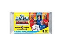 x10 packs MATCH ATTAX EPL PREMIER LEAGUE 17/18 FOOTBALL CARDS