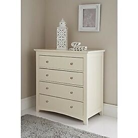 Carmen 4 drawer chest x2