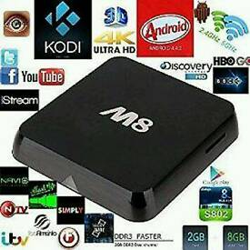 Kodi fully fitted Android tv box
