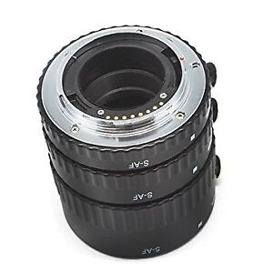 Macro Rings for Sony A-Mount