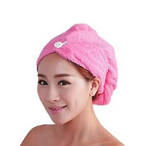 Quick Dry Hair Towel - Used once - Pink