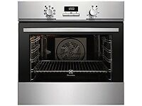 Electrolux EOB3400EAX built in stainless steel single oven.