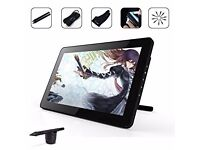 Ugee HK1560 15.6 Inches IPS Screen HD Resolution Graphic Drawing Monitor Interactive Pen Display