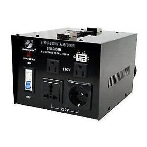 VOLTAGE CONVERTER /VOLTAGE TRANSFORMER 220V-110V / 110 V - 220 V STEP UP STEP DOWN 500 WATT FOR $39.99