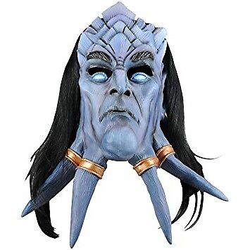 Original WoW Draenei Latex Maske Lizenzporodukt Rubie's World of Warcraft