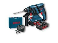 Bosch Professional gbh 36vf li Drill with x2 Batteries, Charger and carry case