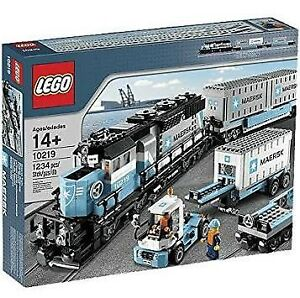 LEGO Maersk Container Train