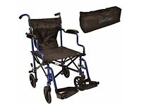 Wheelchair - super light, folding into a bag
