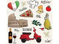 Learn Italian in Hertfordshire – Broxbourne – with a dedicated, experienced teacher